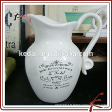 Meilleur vente en gros de poterie en céramique en céramique
