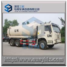 16 M3 HOWO 6X6 camión de tanque de vacío de succión de aguas residuales