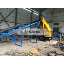 plastic metal can crushing machine