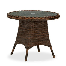 Resin Patio Rattan Wicker Garden Outdoor Dining Table