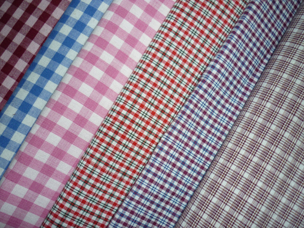 cotton school uniform fabric