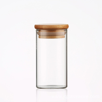 Mini Kitchen Storage Glass Jar with lids