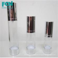 Kosmetik Airless Pumpe Flasche 20ml 30ml für Sahne angepasst PETG