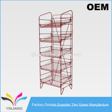 Flooring Stand Layer Factory Preço barato Hight Quality Metal Tier Shelving