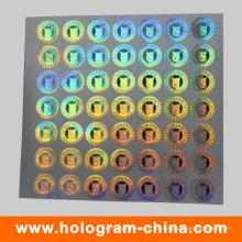 Etiqueta do holograma da autenticidade da prova da falsificação
