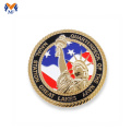 Design painted enamel crown coin