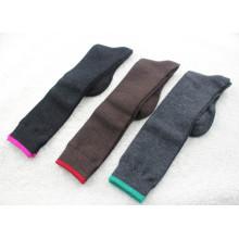 Chaussettes à manchette en laine mérinos