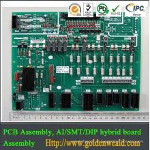 PCBA-Fabriken PWB-Aluminiumversammlung DIP SMT elektronische PWB-Versammlung,
