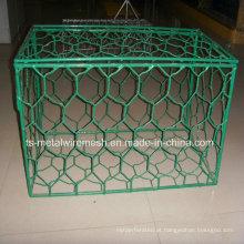 Rede de gaiola de segurança e forte