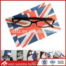 Heißes verkaufendes schönes foto gedrucktes microfiber Brillenreinigungstuch