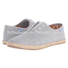 2016 New Design Shoes Factory Espadrilles Soft Casual Flat Shoes