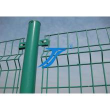 Barrière de treillis métallique de revêtement de PVC 3D de recourbement