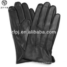 2016 New Hot Sale Mens Touch Screen Leather Gloves smartphone leather gloves