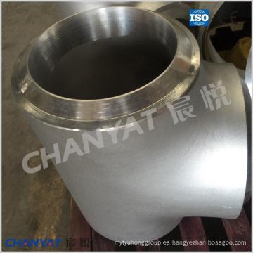 A403 (WP321H, S32109) Tee de montaje en tubería de acero de ASTM