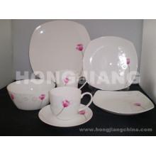 Костяного фарфора Набор посуды (HJ068003)