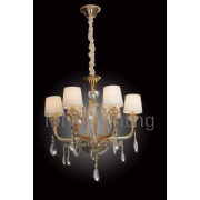 2013 popular crystal chandeliers with fine art glass,elegant style