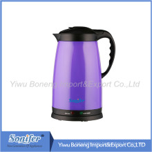 1.8L Electric Water Kettle Plastic Kettle Thermo Air Pot Sf2008 (Purple)