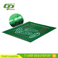 China Manufacturer golf teaching hitting mat golf mats indoor putting green For Golf Practice