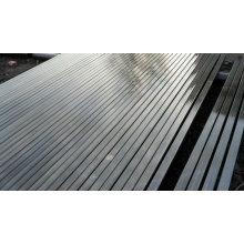 MS erw tubes carrés galvanisés tubes rectangulaires ASTM A500 / Gr B / Q235 / SS400