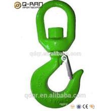 Cadena de acero giratorio ganchos de cadena giratoria ganchos/carbono