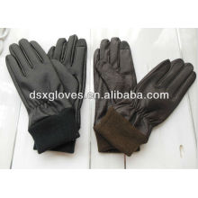touch screen leather gloves for men gloves
