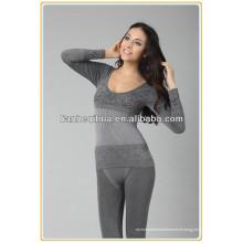 Sous-vêtements féminins sans couture longue johns, pyjamas de haute qualité pour les longues longues johns