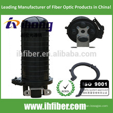 Boîtier à joint à fibre optique à 4 ports vertical / dôme