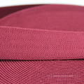 Top Grade Polyester Nylon Cotton Elastic Webbing with Good Hand Feel for Bag / Belt / Garment Accessories