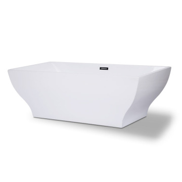 Serenity White Color Soaking Freestanding Tub