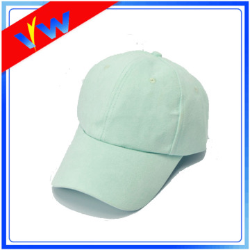 Plain Blank Suede Baseball Cap