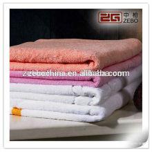100% algodón de alta calidad de precio al por mayor toallas de baño absorbente