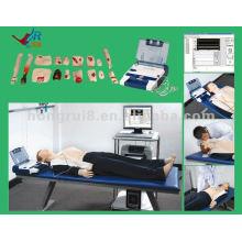 Mannequin médical intégré numérique intégré, mannequin d'entraînement ACLS