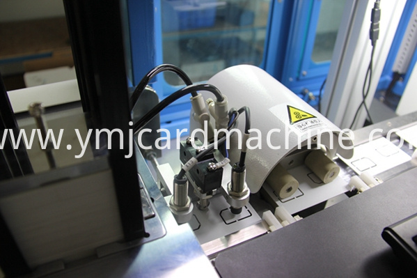 Detail of Card Surface Recognizing Machine