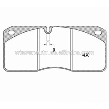 IVECO 29067 truck brake pad