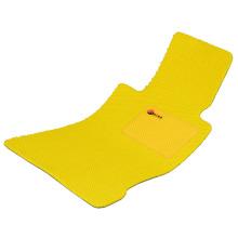 Car Mat Flat Foot Loop Pile PP Fiber Carpet Yellow