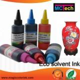 Top quality custom t shirt printing 100% Compitable Mimaki jv3 ss2 eco solvent ink