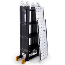 15.5FT de aluminio multiusos escalera extensión plegable telescópica telescópica telescópica