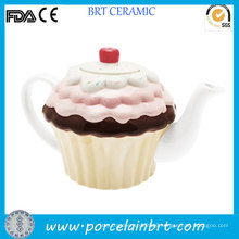 Beautiful Ice Cream Design Unique Tea Pot
