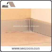 Hot Selling Silver Aluminum Flooring Base Board