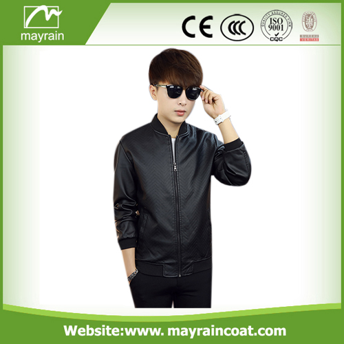 Fashion PU Outdoor Jacket