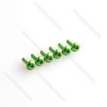 Все виды анодированного алюминия круглый болт с шестигранной головкой