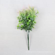 декоративные зеленые декоративные искусственные листва растения для изгороди с SGS