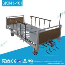 SK041-101 lit manuel réglable de clinique de meubles d'hôpital