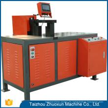 Procesador de fábrica Vhb-410 Cnc cobre barra curva manual Cizalla