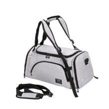 Outdoor Multi-Function Large Capacity Nylon Handbag Foldable Travel Bag with Shoes Compartment