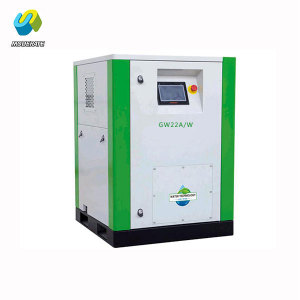 22kw Air Oil Lubricating Free Screw Air Compressor