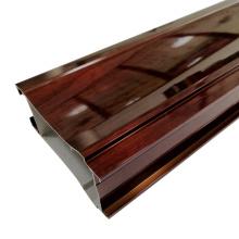 Wooden wardrobe aluminum extrusion parts
