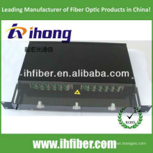 19 '' Rackmontage Sliding Fibre Patch Panel / ODF mit transparenter Abdeckung, Hersteller