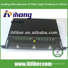 19 '' montagem em rack Sliding Fiber Patch Panel / ODF com tampa transparente, fabricante