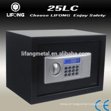 Armário de segurança eletrônico depósito em casa com display LCD